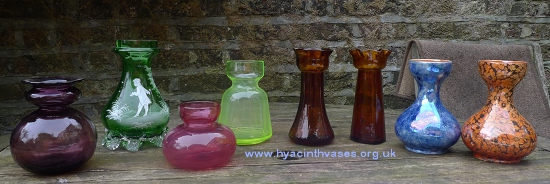 miscellaneous hyacinth vase shapes